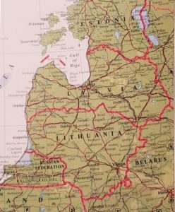 With DNA testing I discovered my grandpa was born in Bauska, Latvia
