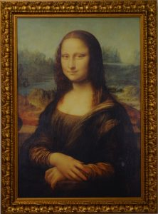 portrait of Mona Lisa