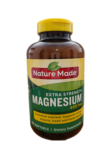 bottle of magnesium 400 mg